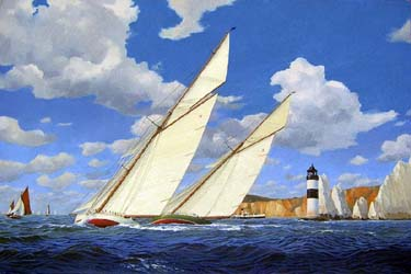 Marine paintings gallery.