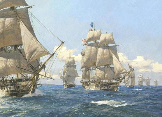 Bildergebnis für Hornblower ship