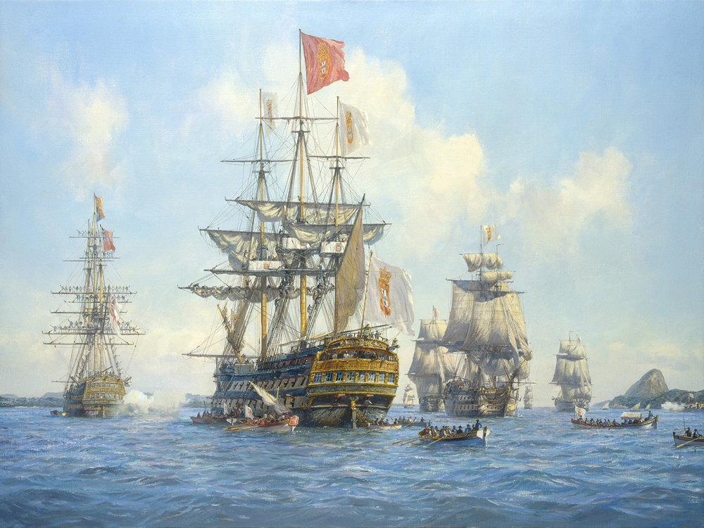 The Arrival of the Portuguese Royal Family in Brazil, 7 March 1808